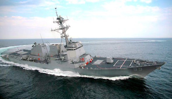 USS_Farragut;99_Turn_Burn