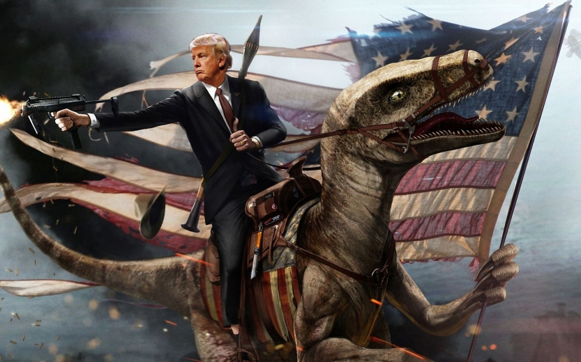 Trump on Dragon