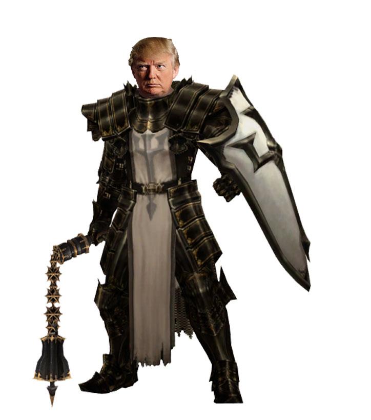 Trump-the-Knight